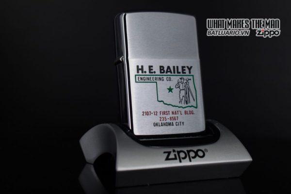 ZIPPO XƯA 1975 – H.E. BAILEY