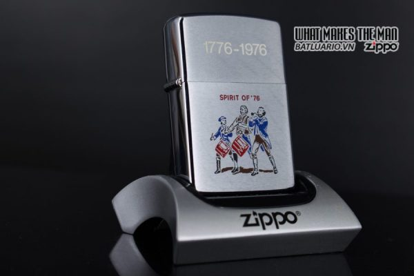 ZIPPO XƯA 1975 – SPIRIT OF 76 – 1776 – 1976