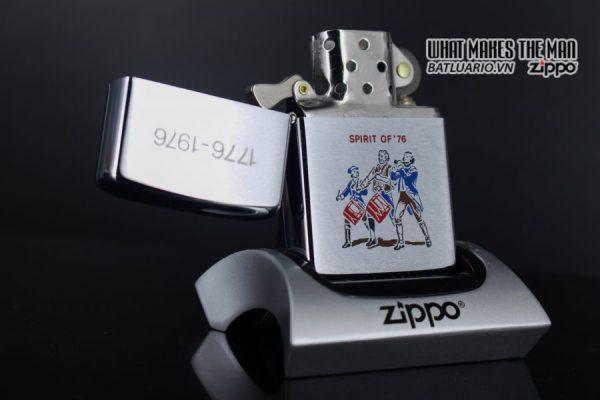 ZIPPO XƯA 1975 – SPIRIT OF 76 – 1776 – 1976 8