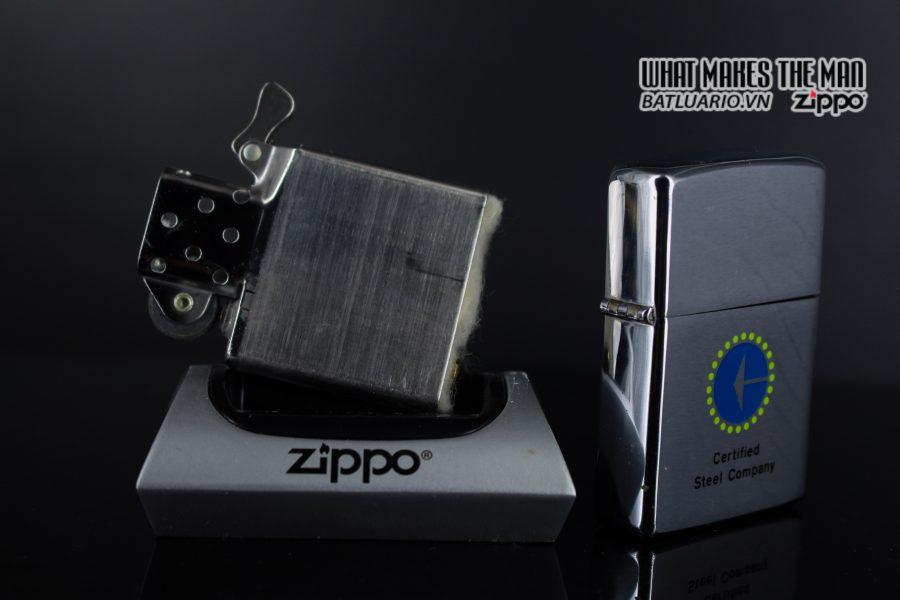 ZIPPO XƯA 1976 – CERTIFIED STEEL COMPANY 2