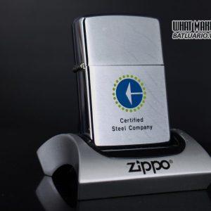 ZIPPO XƯA 1976 – CERTIFIED STEEL COMPANY