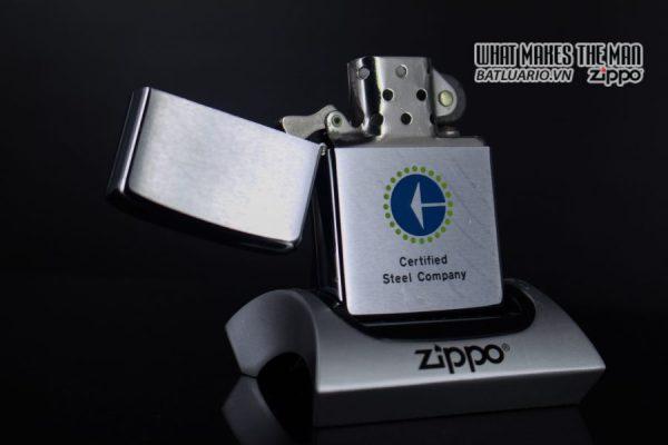 ZIPPO XƯA 1976 – CERTIFIED STEEL COMPANY 6