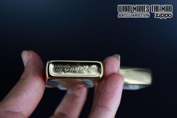 ZIPPO XƯA 1976 – GOLD PLATE GOLDEN ELEGANCE – MẠ VÀNG 22K – PATSY 6