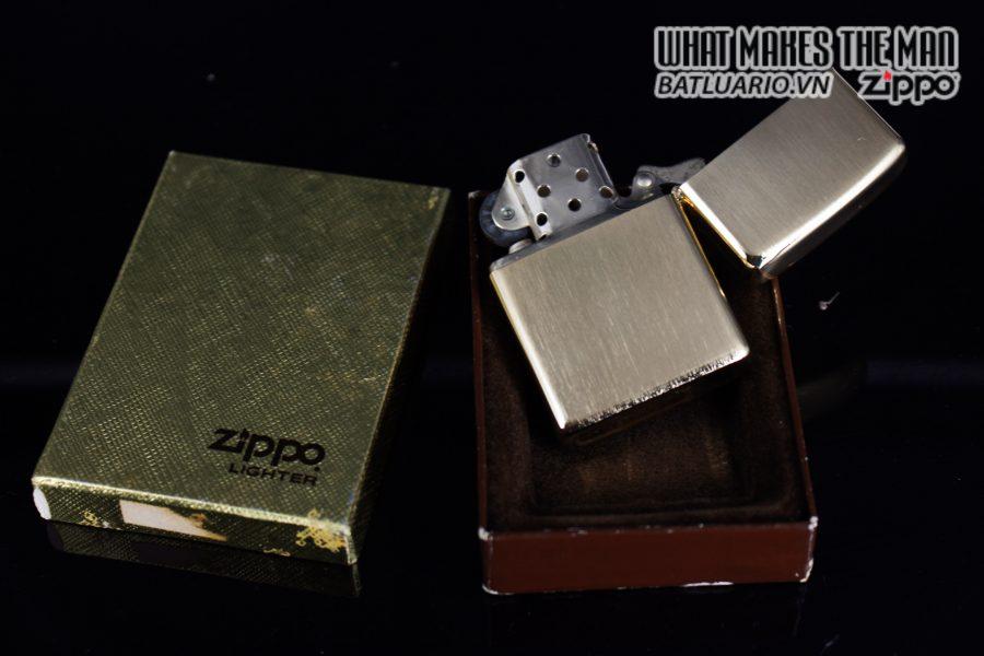 ZIPPO XƯA 1976 – GOLD PLATE GOLDEN ELEGANCE – MẠ VÀNG 22K – PATSY 9
