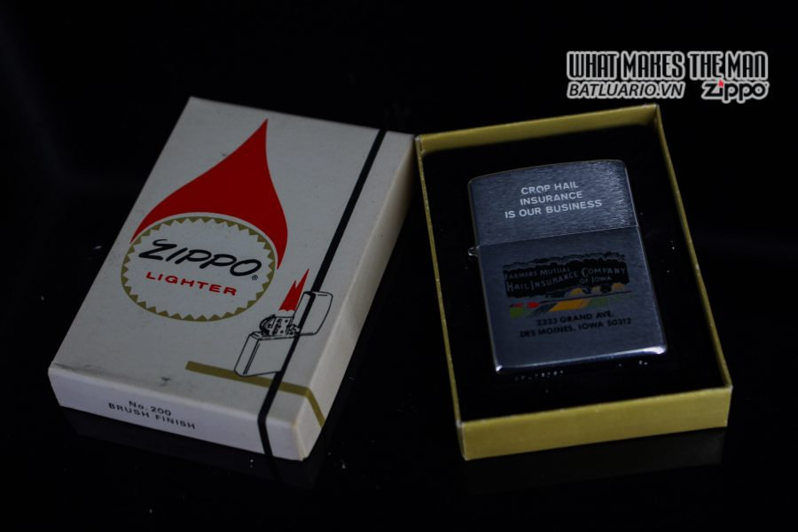 ZIPPO XƯA 1977 – FAMMERS MUTUAL INSURANCE COMPANY 1