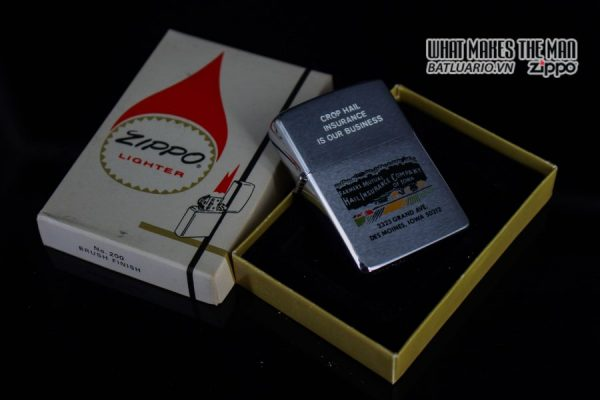 ZIPPO XƯA 1977 – FAMMERS MUTUAL INSURANCE COMPANY 10