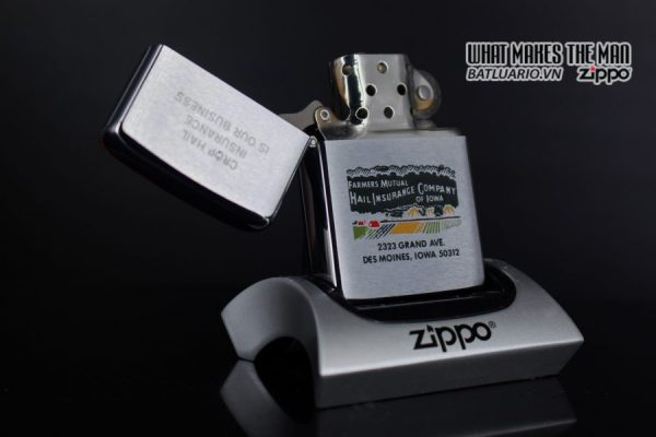 ZIPPO XƯA 1977 – FAMMERS MUTUAL INSURANCE COMPANY 7