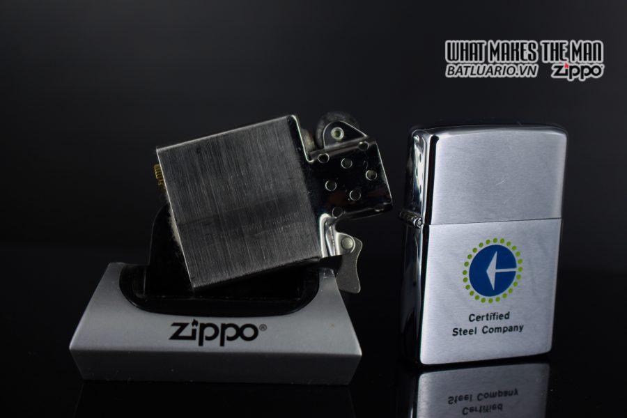 ZIPPO XƯA 1979 – CERTIFIED STEEL COMPANY 2