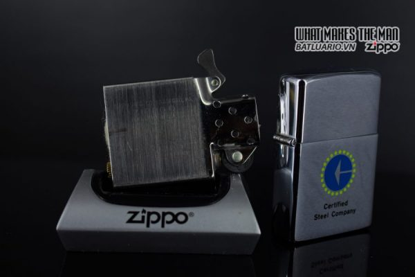 ZIPPO XƯA 1979 – CERTIFIED STEEL COMPANY 3
