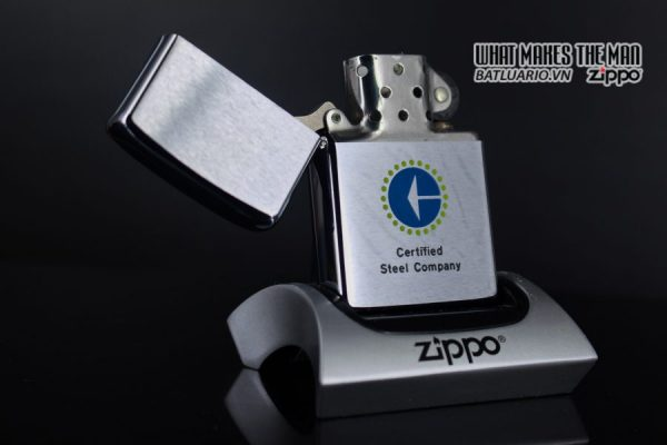 ZIPPO XƯA 1979 – CERTIFIED STEEL COMPANY 6