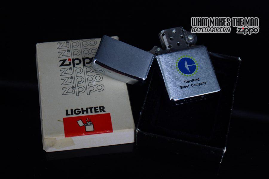 ZIPPO XƯA 1979 – CERTIFIED STEEL COMPANY 8
