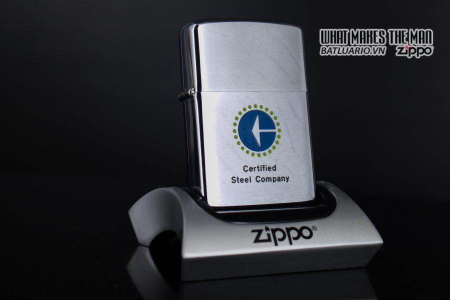 ZIPPO XƯA 1979 – CERTIFIED STEEL COMPANY