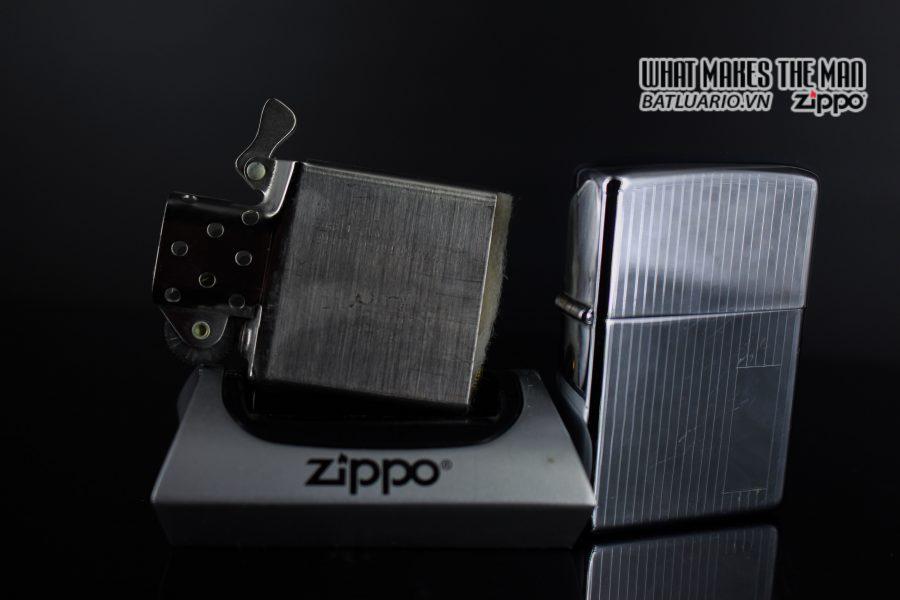 ZIPPO XƯA 1979 – ENGINE TURNED 3