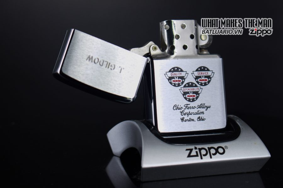 ZIPPO XƯA 1979 – OHIO FERRO ALLOYS CORPORATION 1