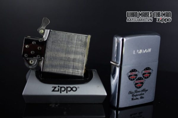 ZIPPO XƯA 1979 – OHIO FERRO ALLOYS CORPORATION 4