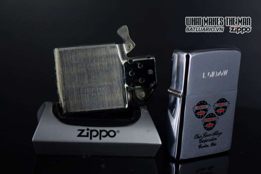 ZIPPO XƯA 1979 – OHIO FERRO ALLOYS CORPORATION 5