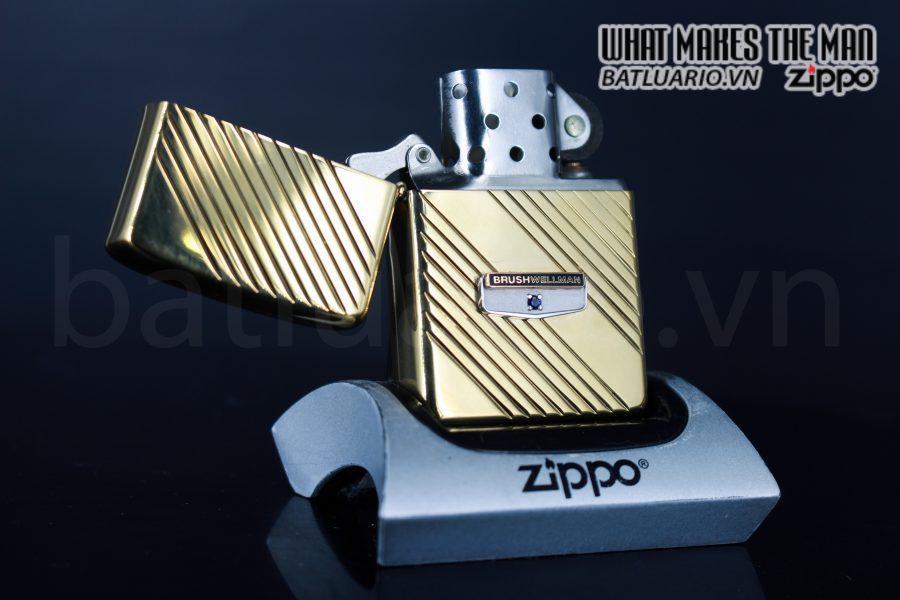 ZIPPO XƯA 1982 – GOLD PLATE GOLDEN ELEGANCE – MẠ VÀNG 22K 6