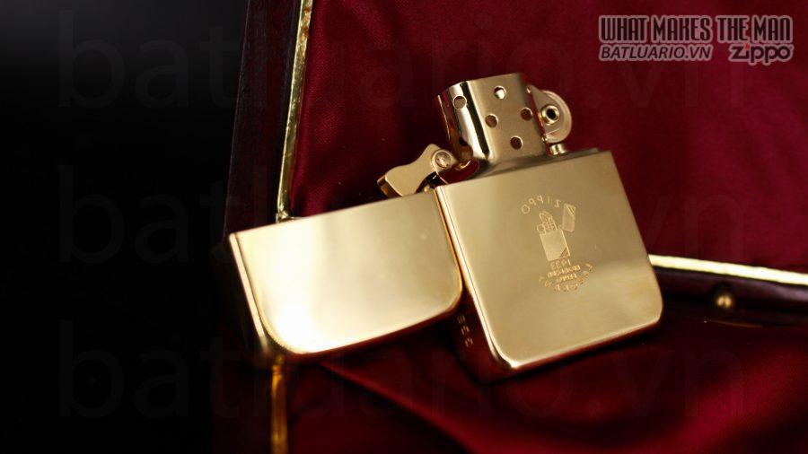 HIẾM -SIÊU PHẨM – ZIPPO SOLID GOLD 18K – ZIPPO GGB 1941 – LIMITED 24/300 10