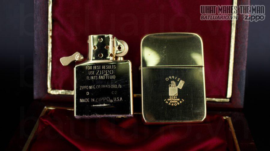HIẾM -SIÊU PHẨM – ZIPPO SOLID GOLD 18K – ZIPPO GGB 1941 – LIMITED 24/300 11