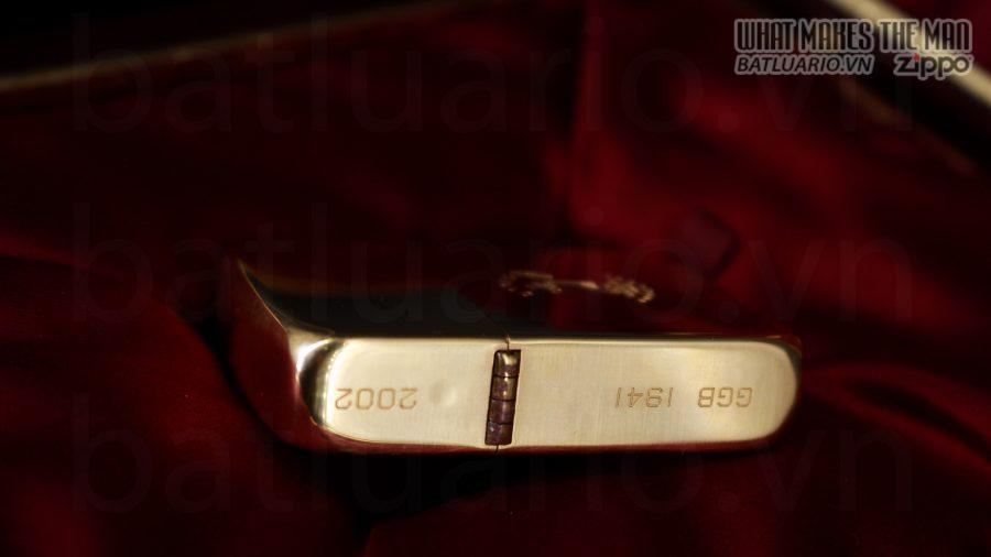 HIẾM -SIÊU PHẨM – ZIPPO SOLID GOLD 18K – ZIPPO GGB 1941 – LIMITED 24/300 17