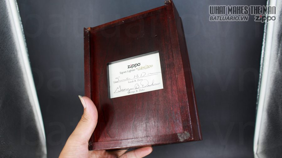 HIẾM -SIÊU PHẨM – ZIPPO SOLID GOLD 18K – ZIPPO GGB 1941 – LIMITED 24/300 26