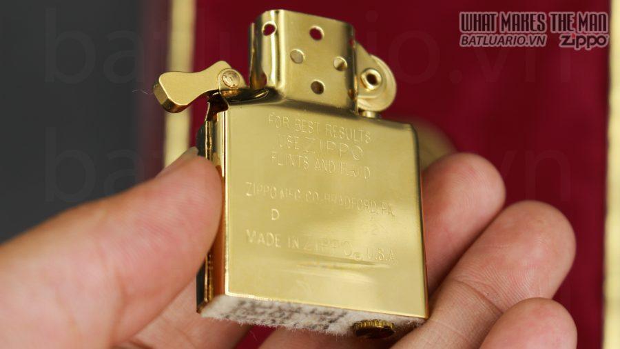 HIẾM -SIÊU PHẨM – ZIPPO SOLID GOLD 18K – ZIPPO GGB 1941 – LIMITED 24/300 3