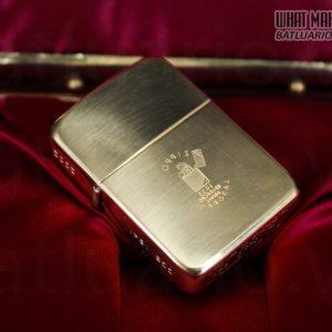 HIẾM -SIÊU PHẨM – ZIPPO SOLID GOLD 18K – ZIPPO GGB 1941 – LIMITED 24/300