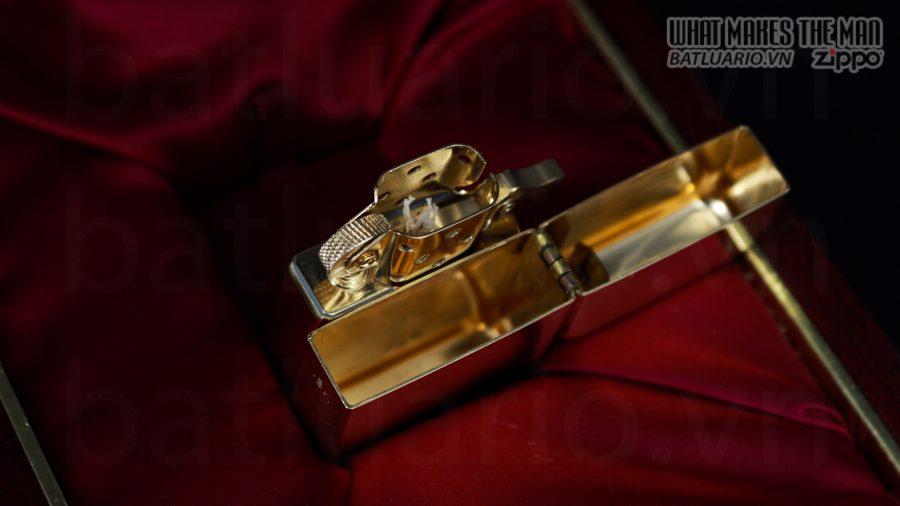HIẾM -SIÊU PHẨM – ZIPPO SOLID GOLD 18K – ZIPPO GGB 1941 – LIMITED 24/300 6