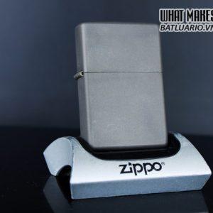 HIẾM – ZIPPO 2003 – SOLID TITANIUM