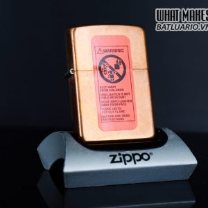ZIPPO 2003 – MARLBORO BLEND NO 27 – SOLID COPPER
