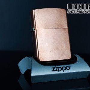 ZIPPO 2003 – SOLID COPPER – MARLBORO – BLEND NO 27