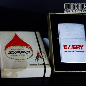 ZIPPO CANADA 1967 – 1975 – EMERY UNCOMMON CHEMICALS 1