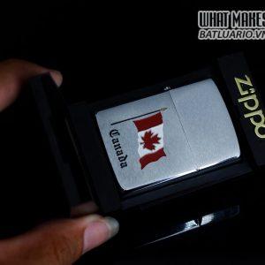 ZIPPO CANADA 1988 – QUỐC KỲ CANADA 1