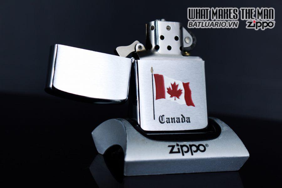 ZIPPO CANADA 1988 – QUỐC KỲ CANADA 5