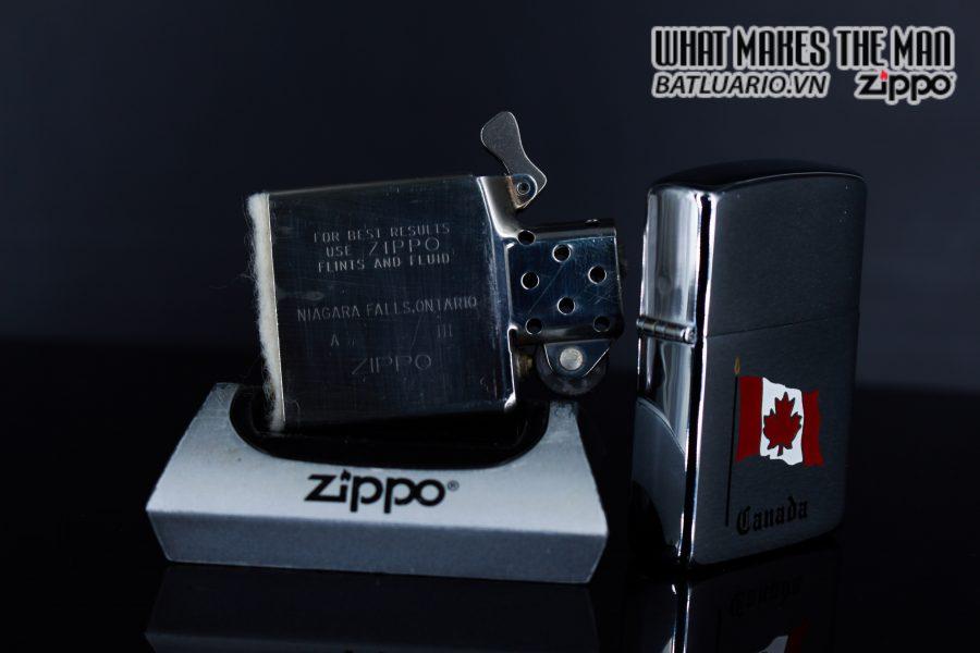 ZIPPO CANADA 1988 – QUỐC KỲ CANADA 6