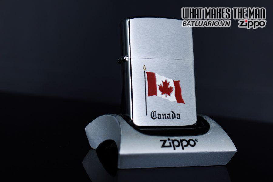 ZIPPO CANADA 1988 – QUỐC KỲ CANADA