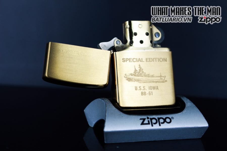 ZIPPO CHU NIÊN 1932 - 1984 - USS IOWA BB61 5