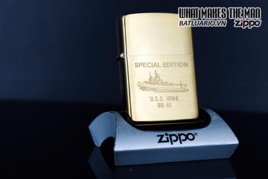 ZIPPO CHU NIÊN 1932 - 1984 - USS IOWA BB61
