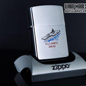ZIPPO LA MÃ 1989 - USS NIMITZ CVN-68