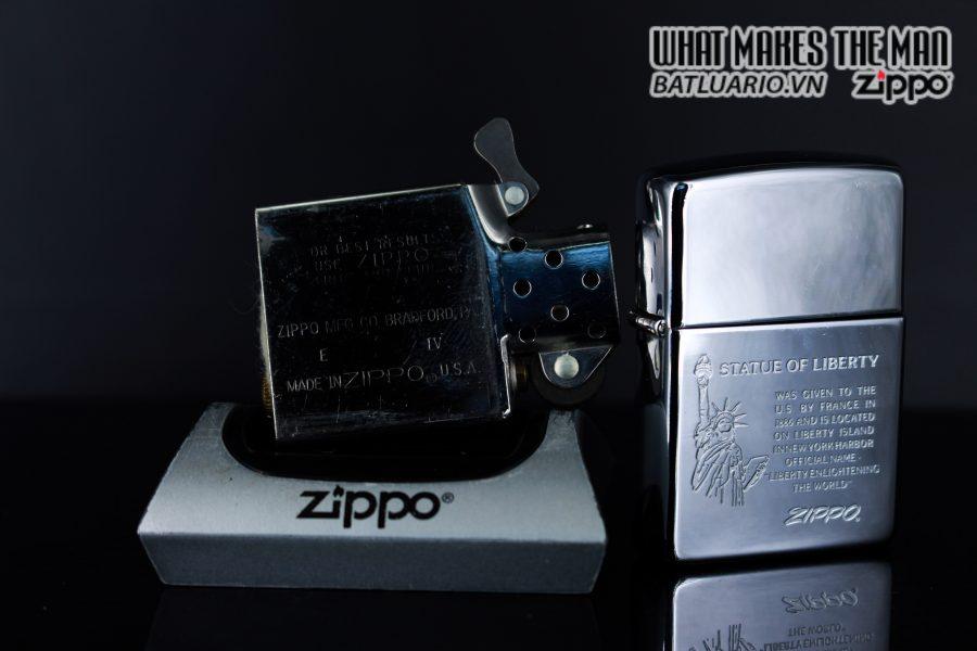 ZIPPO LA MÃ 1990 – STATUE OF LIBERTY 2