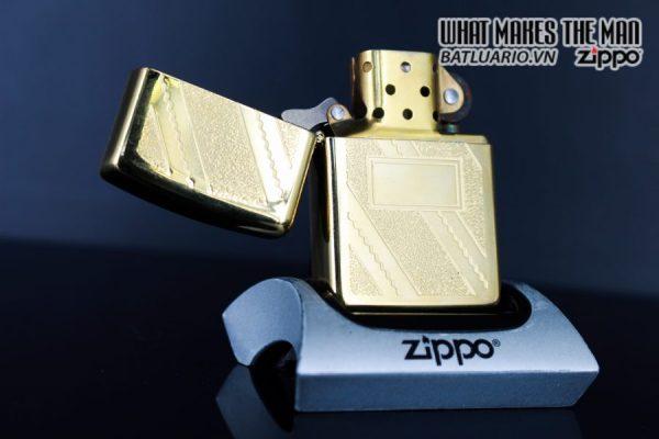 ZIPPO LA MÃ 1992 – GOLD PLATE GOLDEN ELEGANCE – MẠ VÀNG 22K 3