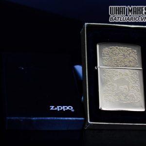 ZIPPO LA MÃ 1996 – CAMEL – GOLD PLATE 22K 1