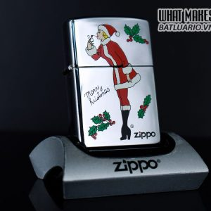 ZIPPO LA MÃ 1998 – MERRY CHRISTMAS