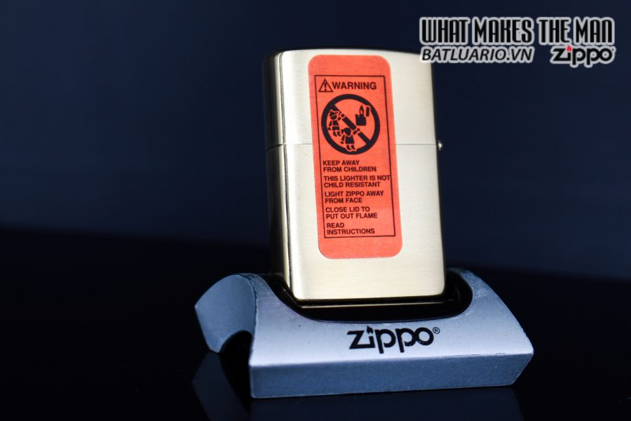 ZIPPO LA MÃ 1999 – 200TH ANNIVERSARY AMERICAN EAGLE – GOLD PLATE 2