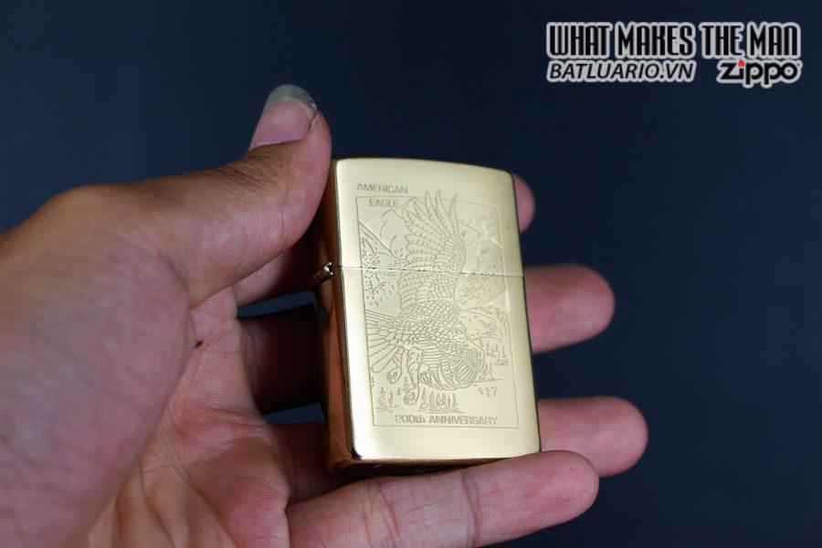 ZIPPO LA MÃ 1999 – 200TH ANNIVERSARY AMERICAN EAGLE – GOLD PLATE 4