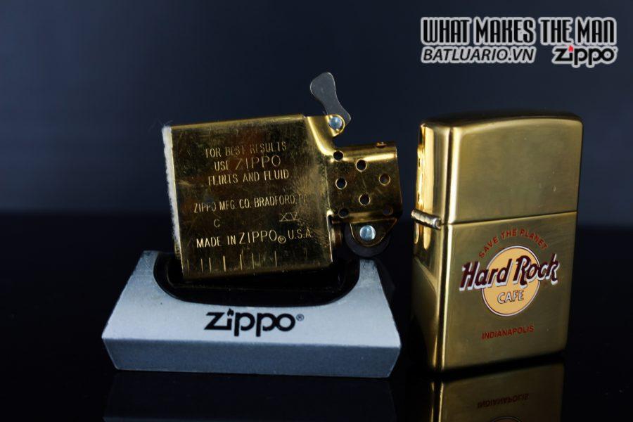 ZIPPO LA MÃ 1999 – CAFE HARD ROCK – INDIANAPOLIS 2
