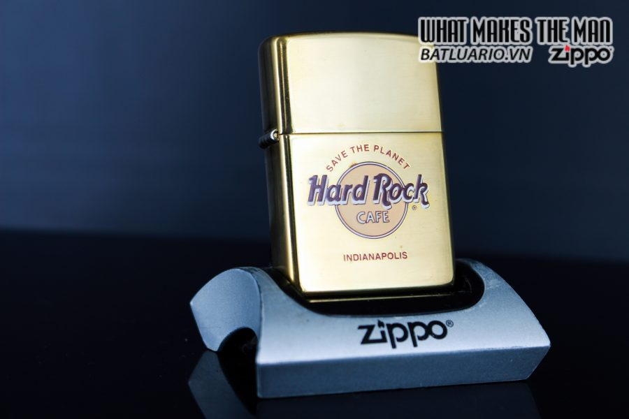 ZIPPO LA MÃ 1999 – CAFE HARD ROCK – INDIANAPOLIS