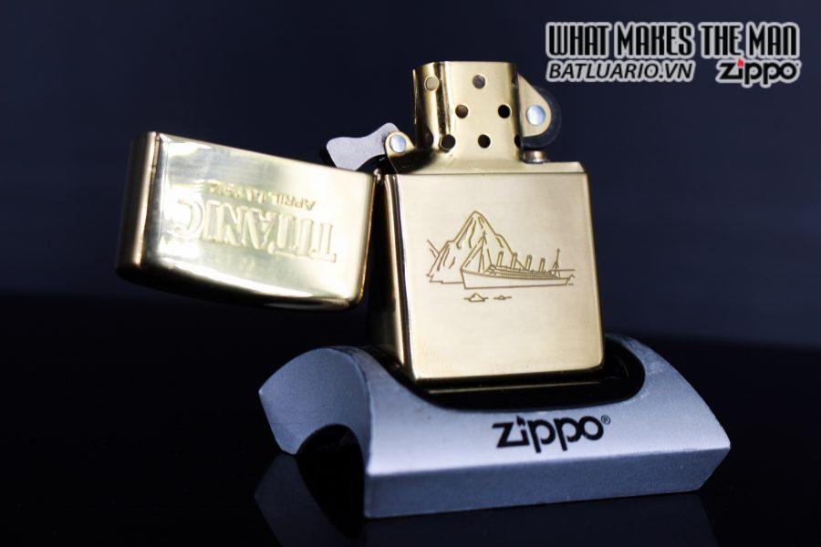 ZIPPO LA MÃ 1999 – TITANIC 4