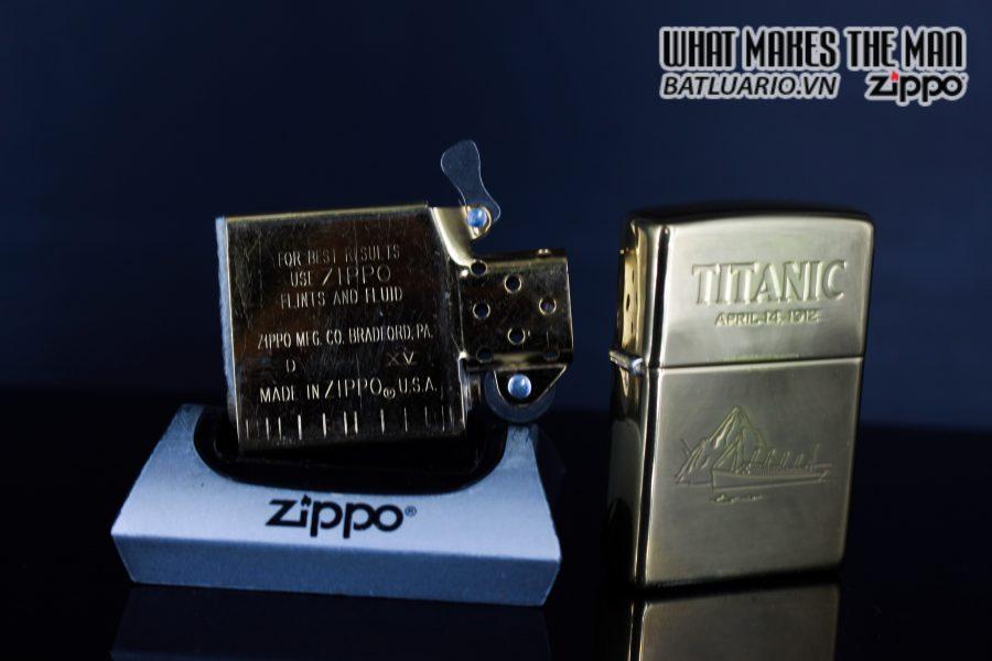 ZIPPO LA MÃ 1999 – TITANIC 5