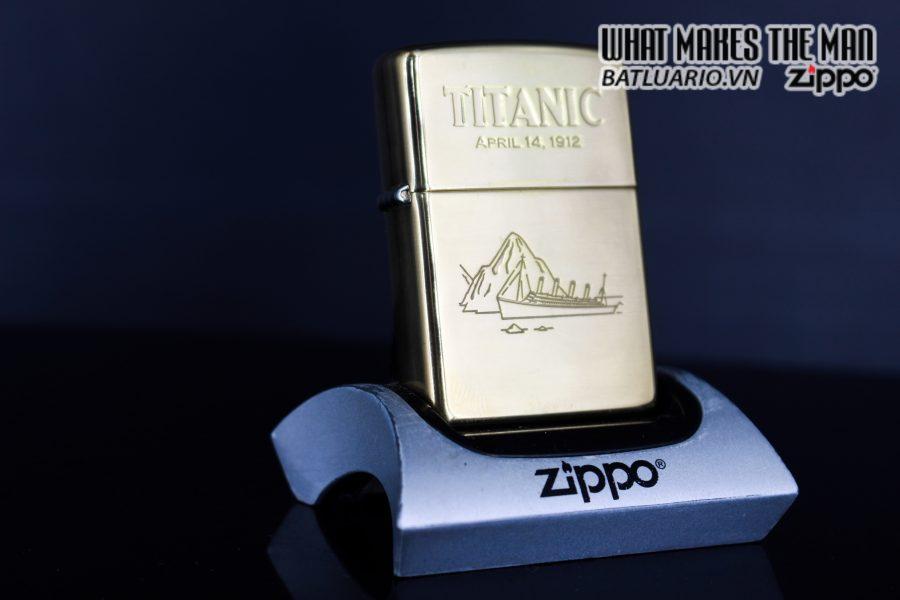 ZIPPO LA MÃ 1999 – TITANIC